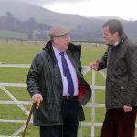 David Jones MP with Mr. Wyn Edwards / David Jones AS gyda Mr. Wyn Edwards